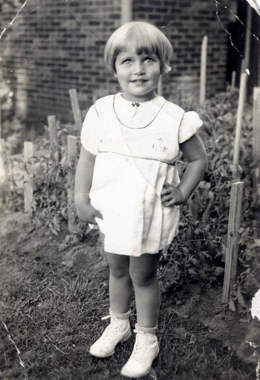 This image provided by the Supreme Court, shows Joan Ruth Bader at two-years-old in 1935. (Collection of the Supreme Court of the United States via AP)