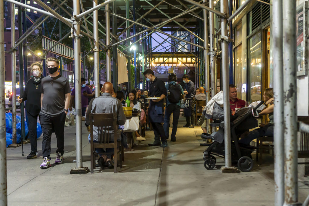 Al Fresco Dining In NYC Will Be Year Round