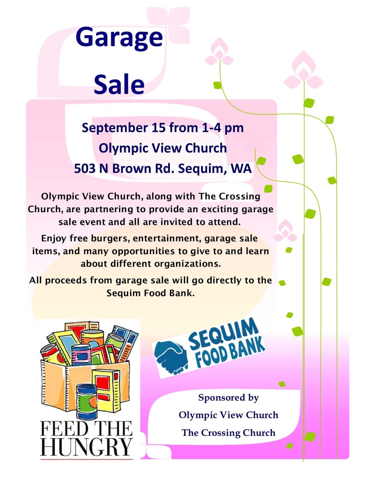 Garage Sale FundraiserMyClallamCounty com | MyClallamCounty com