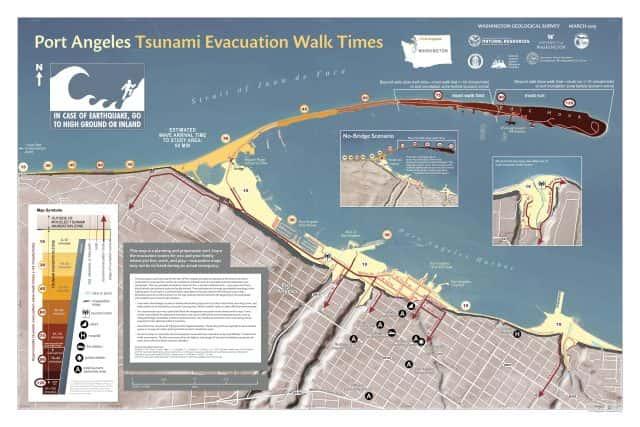 New DNR maps can help residents escape tsunamisMyClallamCounty.com Dnr Maps Washington on