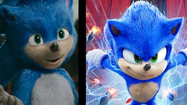 After Fan Outcry Sonic The Hedgehog Gets A Makeover For His New Trailermyclallamcounty Com Myclallamcounty Com