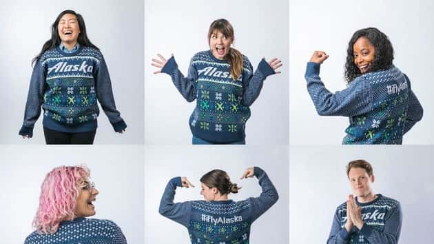 Ugly Holiday Sweater Can Get Passengers Priority Boarding
