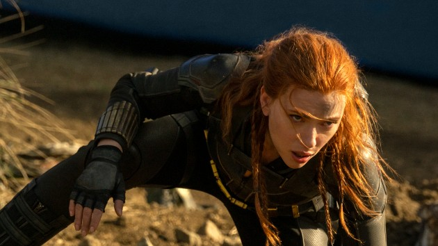 """Scarlett Johansson says she spent """"about 10 years just waiting"""" for the 'Black Widow' movie"""