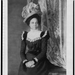 Library Of Congress: [Young African American woman, three-quarter length portrait, facing slightly right, with hands folded on her lap]