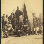 Library Of Congress: Soldiers of the 79th New York at camp