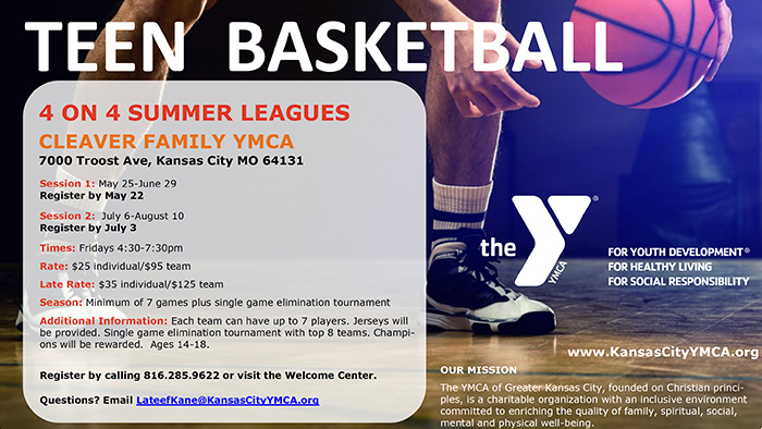 YMCA Teen Basketball