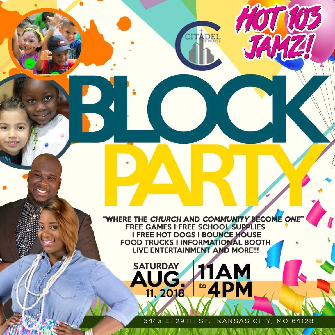 Citadel of Praise Block Party   Hot 103 Jamz!