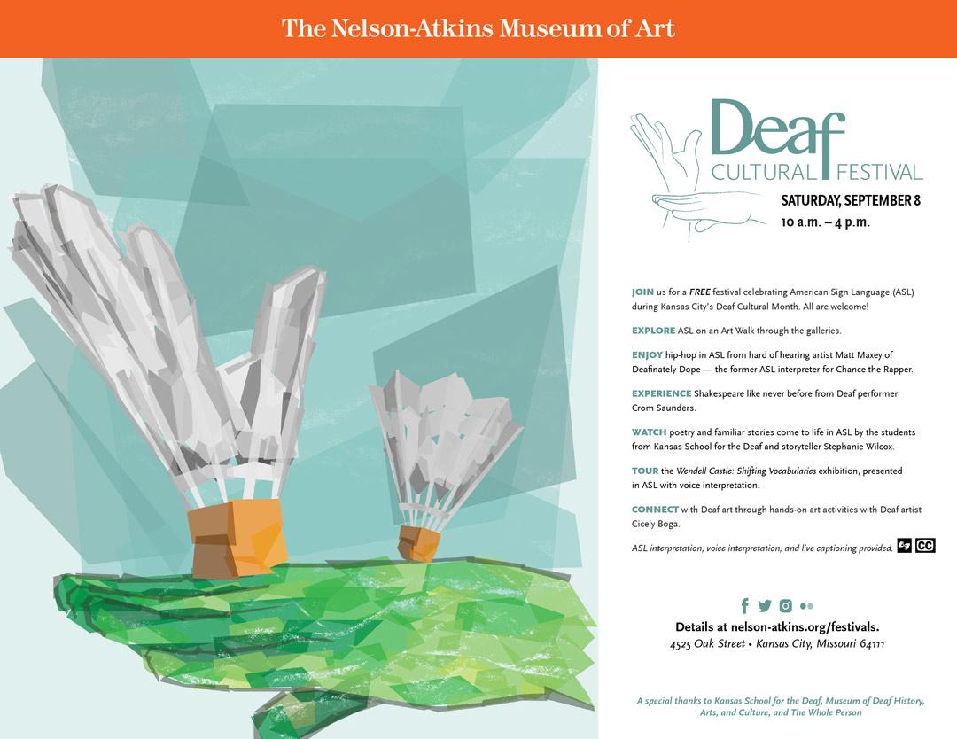 asl deaf event paper