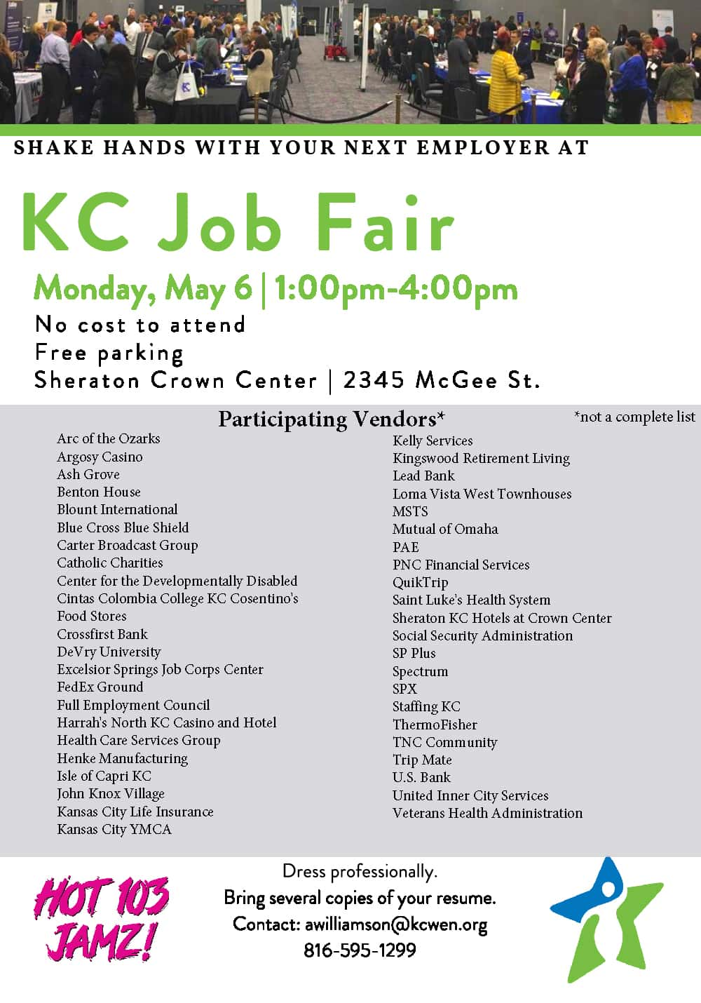 2019 KC Job Fairs   Hot 103 Jamz!