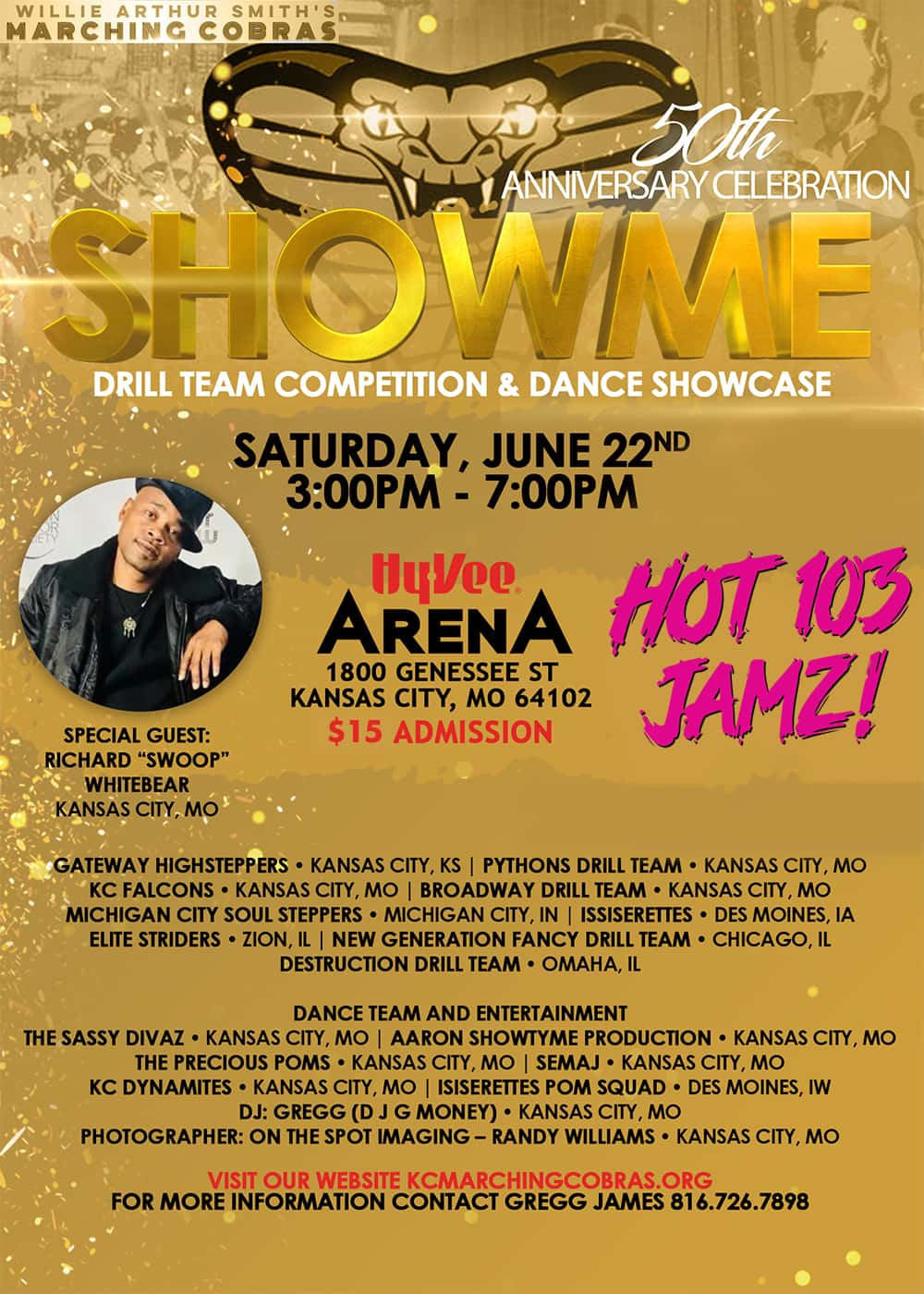 07c1dd8f7 SHOWME Drill Team Competition & Dance Showcase