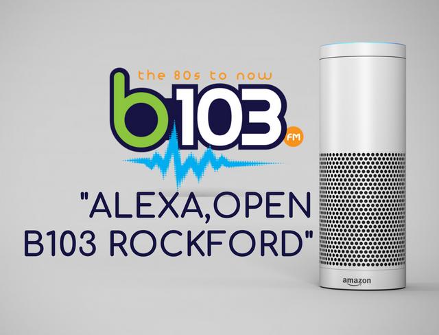 B103 Rockford Alexa Skills | b103