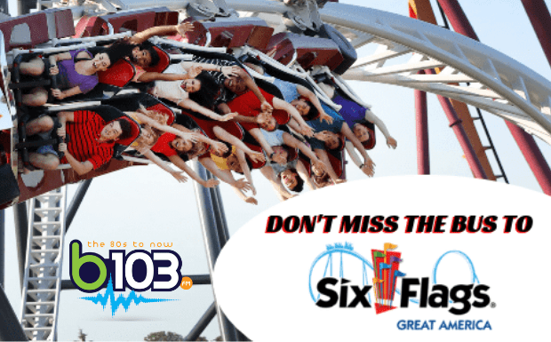 Last Chance at Summer with Six Flags Great America | b103