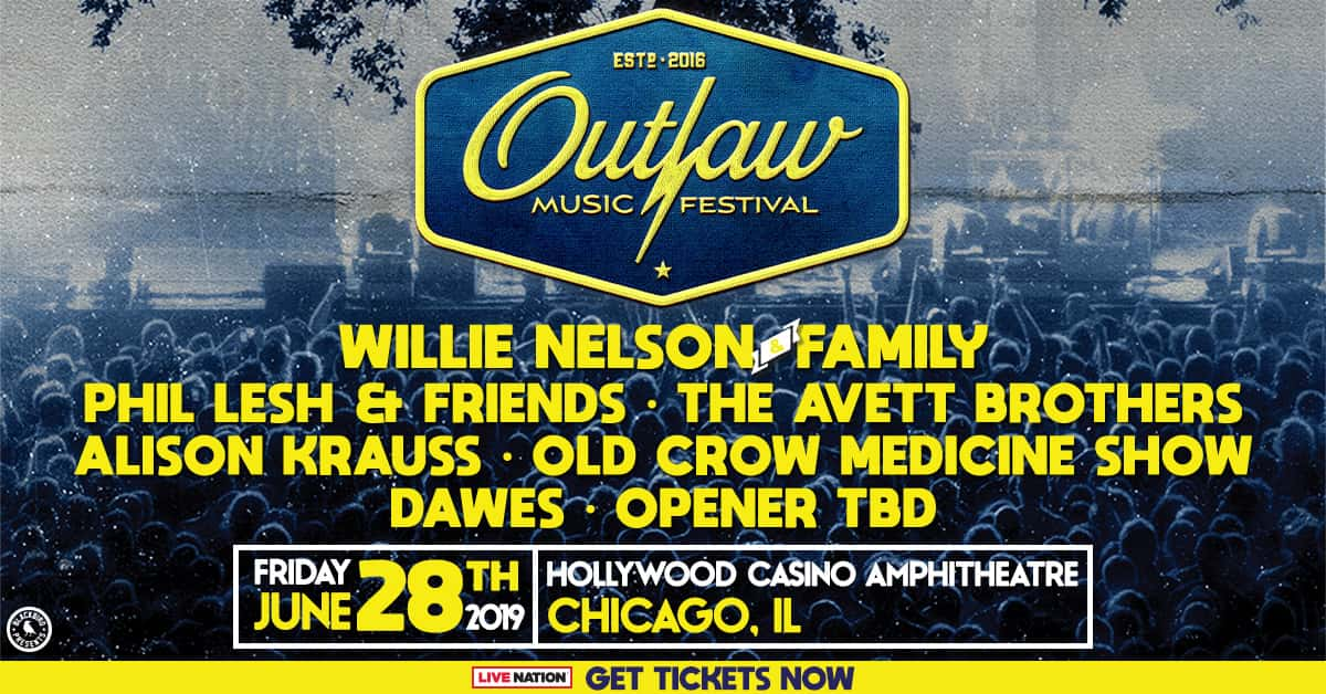 Willie Nelson and the Outlaw Festival @Hollywood Casino