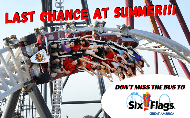 Last Chance at Summer w/ Six Flags Great America | 95 3 The Bull