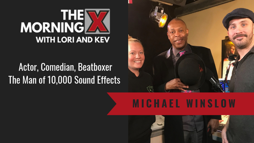 Man of 10,000 Sound Effects, Michael Winslow [INTERVIEW