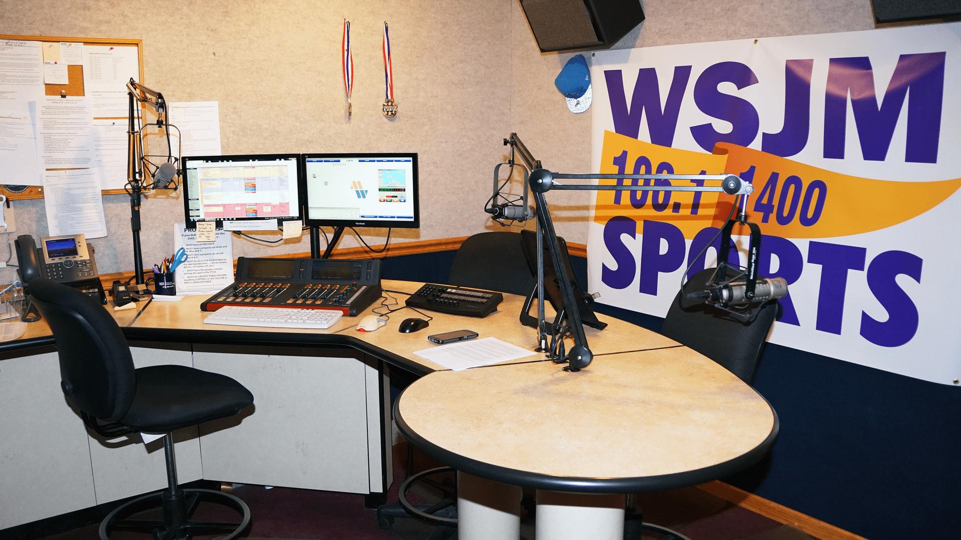 Studio Zoom Background Wsjm Sports