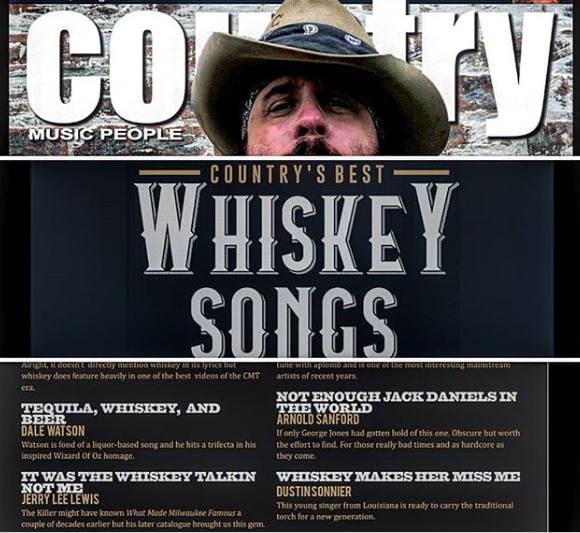 Dustin Sonnier Gets A Nod In European Country Music Magazine Pure