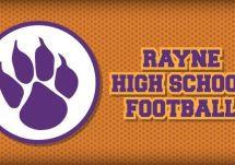 Rayne High School Football Logo