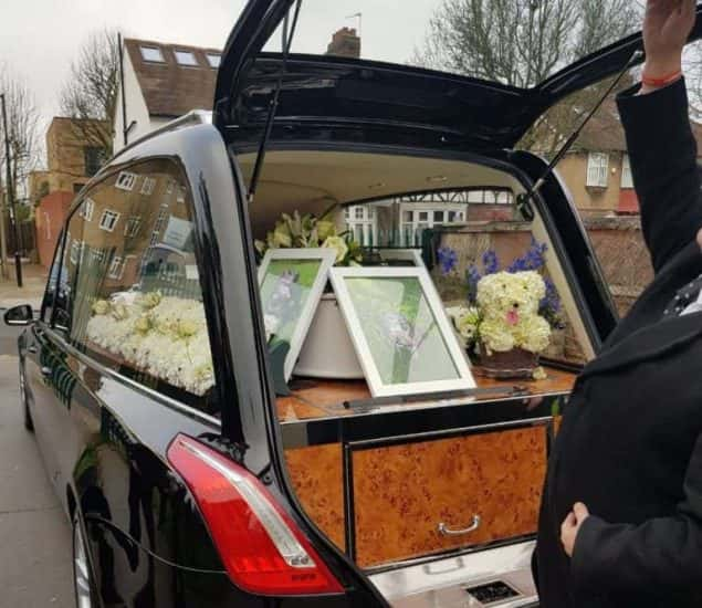 dog funeral hearse