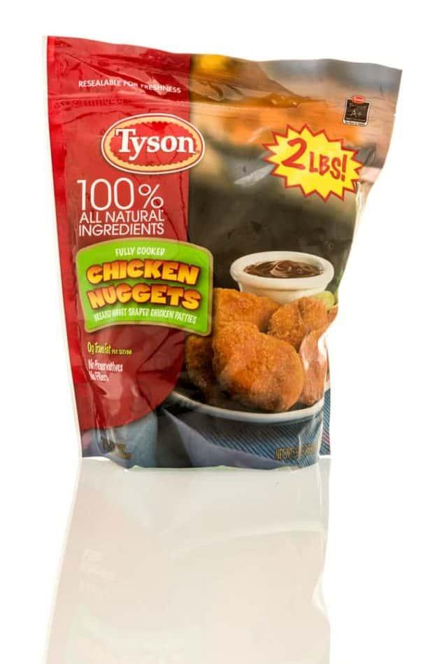Tyson Chicken Nuggets Recall Pure Country 1067
