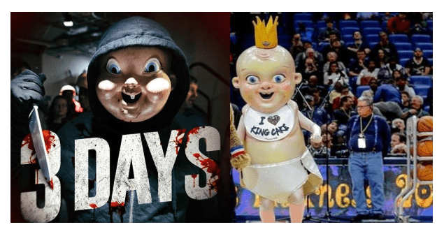 Did Horror Movie Steal From Pelicans Mascot Pure Country