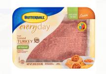 butterball ground turkey container
