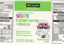 dg baby cough syrup