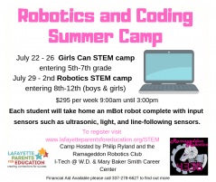 Robotics and Coding Summer Camp | Pure Country 106 7