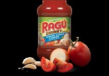 ragu chuncky tomato garlic sauce