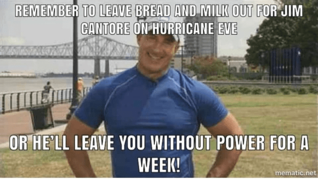 jim cantore bread and milk meme