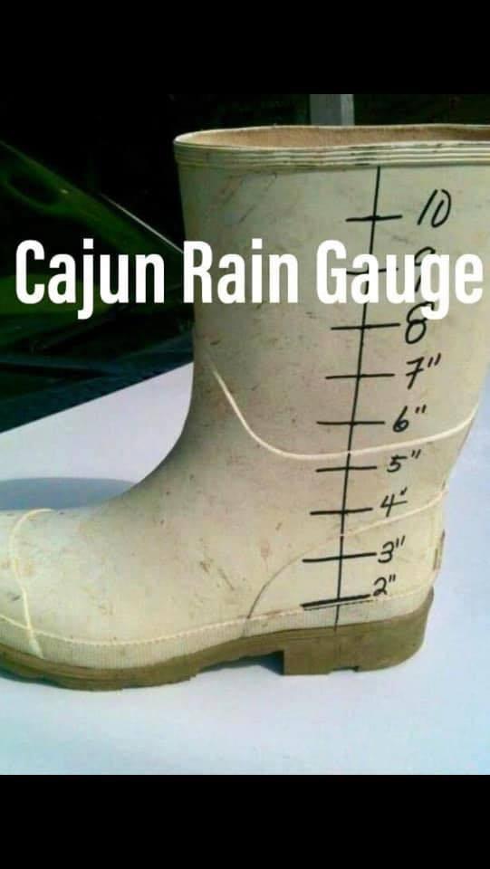 cajun range gauge boot meme