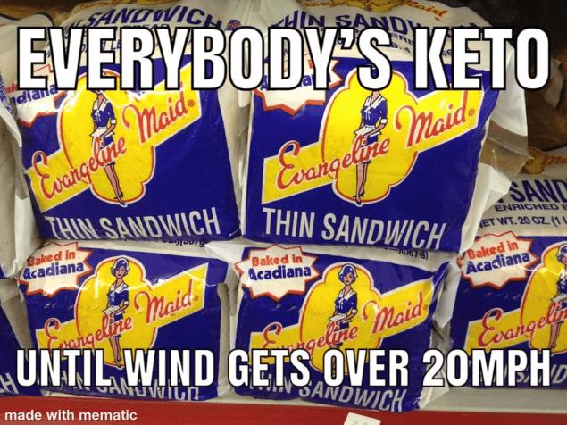 evangeline maid bread hurricane meme