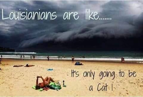 louisiana cat 1 hurricane meme