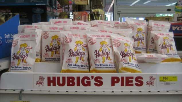 Hubig's Pies On Display