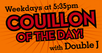 Couillon of the Day banner 535