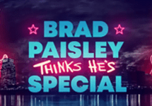 brad paisley thinks hes special logo