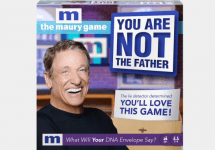 the maury game you are not the father box