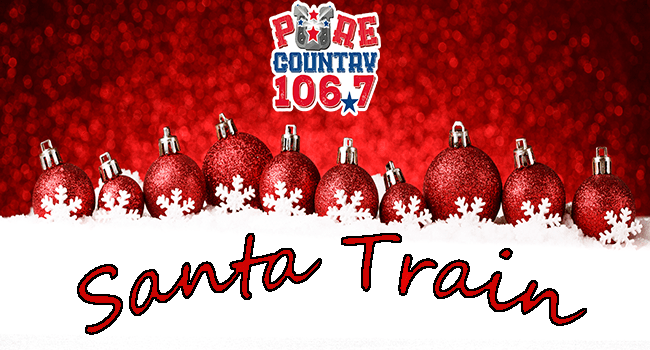 pure country santa train 2019 slider banner