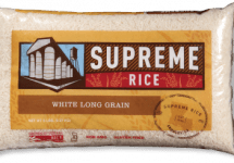 supreme rice bag of white long grain