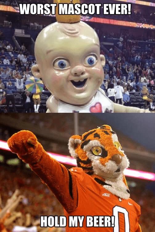 Funny Clemson Mascot Memes | Big 102.1 KYBG-FM