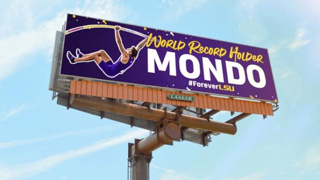 mondo duplantis billboard lsu