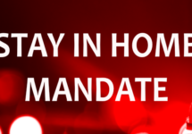 stay in home mandate