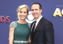 drew and brittany brees at acm awards