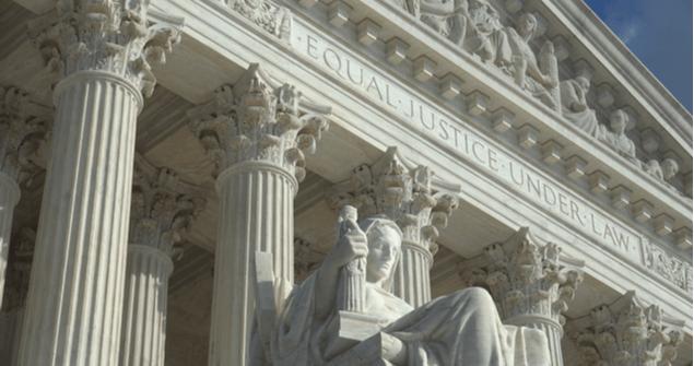 Equal Justice Under Law supreme court building