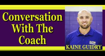 conversation-with-the-coach-kaine-guidry rayne high football