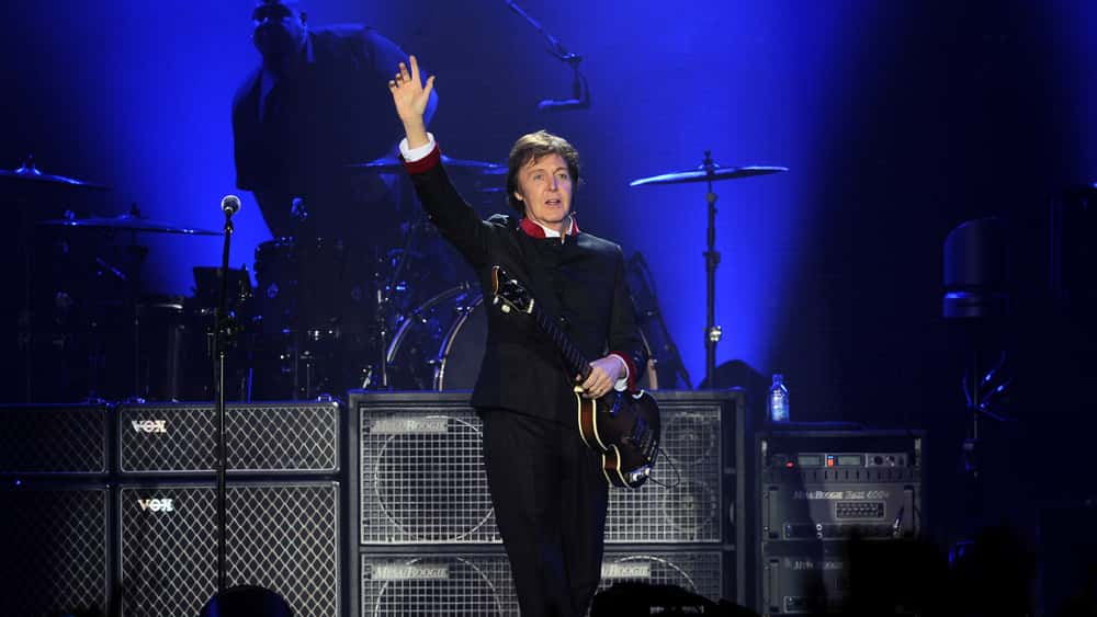 Paul Mccartney To Release Four Live Album Reissues The